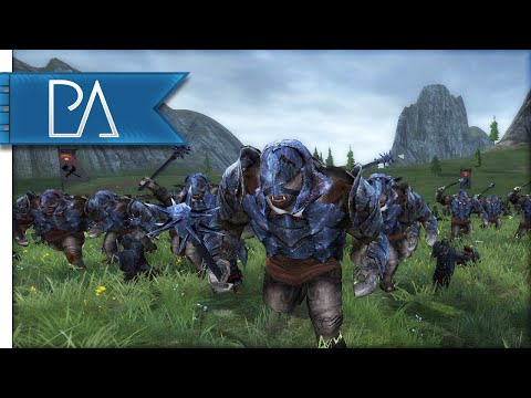 ORC CIVIL WAR BATTLE - Third Age Total War Gameplay