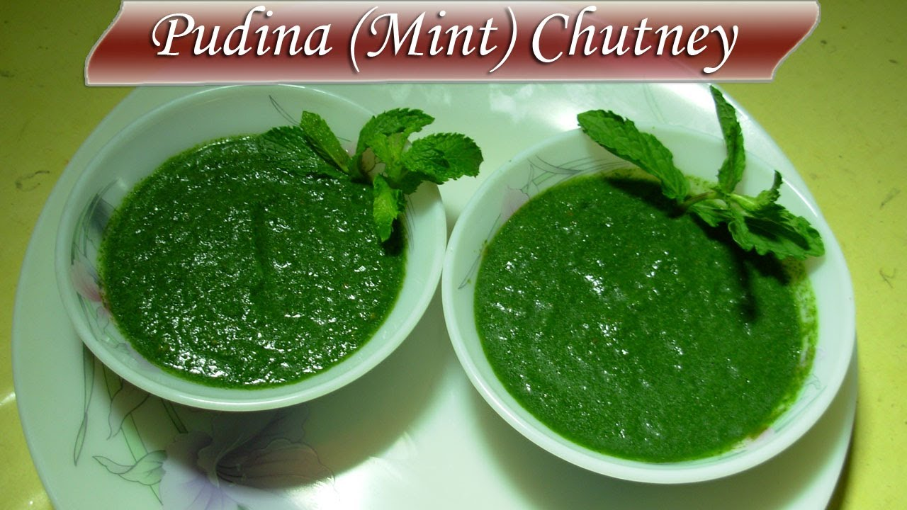 how to make pudina chutney for sandwich