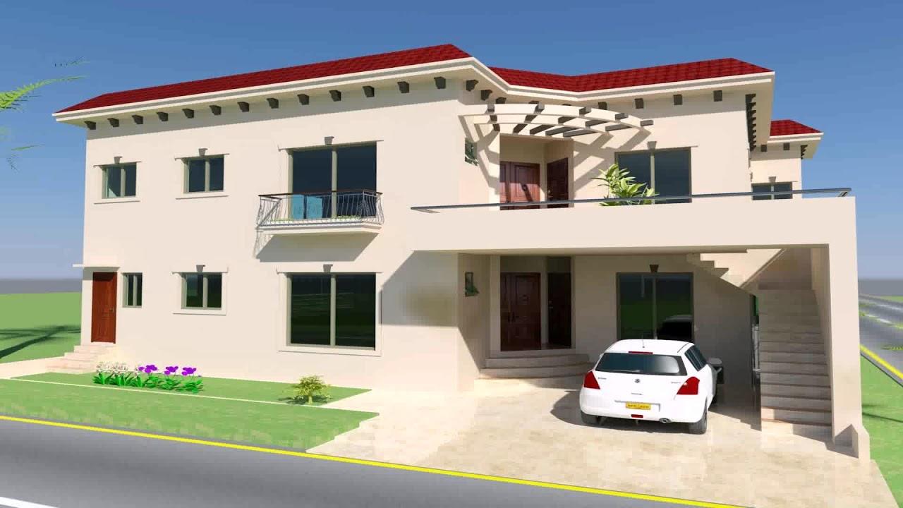 Home Design 10 Marla Part - 35: 10 Marla House Design In Bahria Town