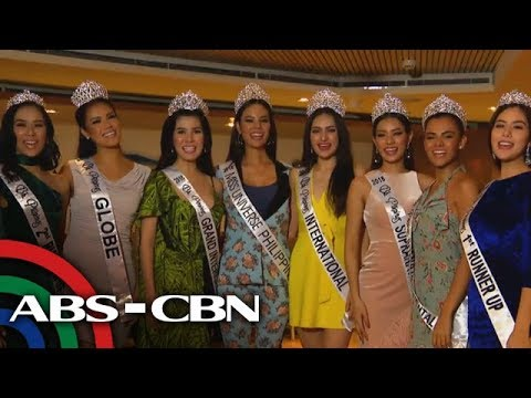 Rated K: Binibining Pilipinas 2018 Queens up close
