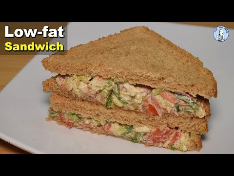 Healthy Sandwich Recipe | Weight Loss Recipes | Life with Amna
