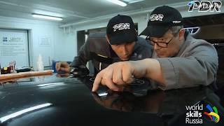 Обучение ремонту вмятин без покраски.