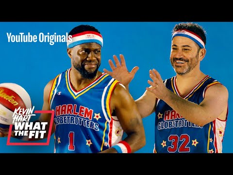 harlem-globetrotters-train-jimmy-kimmel-and-kevin-hart