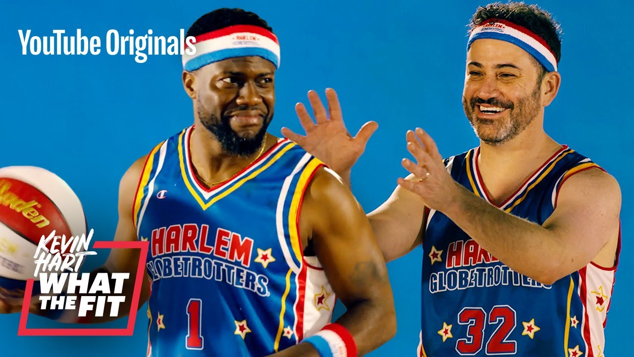 Harlem Globetrotters Train Jimmy Kimmel And Kevin Hart Youtube You are about to action: harlem globetrotters train jimmy kimmel and kevin hart