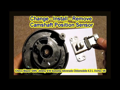 How to Change Remove – Camshaft Position Sensor – Chevy Blazer GMC S10 Oldsmobile 4.3 L Vortec V6