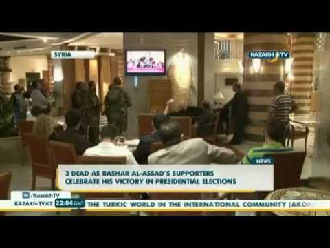 3 dead as Bashar al-Assad`s supporters celebrate his victory in presidential elections