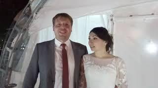 Денис и Оксана 07 07 18 Шатер Зефир Чебоксары парк 500-летия