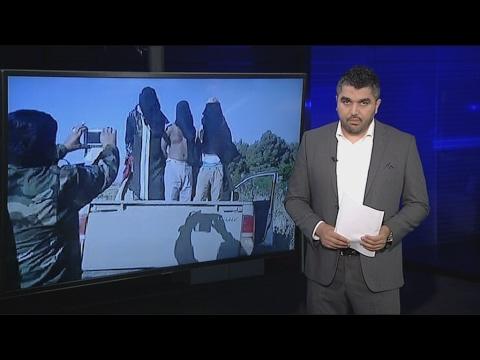 أخبار الآن | شاهد كيف يتنكر عناصر #داعش بزي النساء للهروب