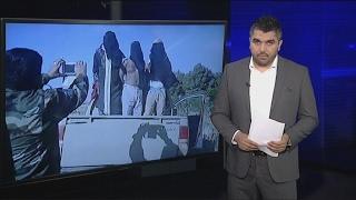 أخبار الآن   شاهد كيف يتنكر عناصر #داعش بزي النساء للهروب