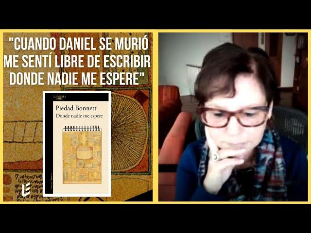 Entrevista Piedad Bonnett: las claves de escritura de Donde nadie me espere.