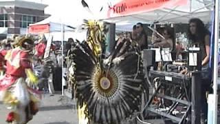 Indian summer festival music, Brule / Индейская музыка, фестиваль в США