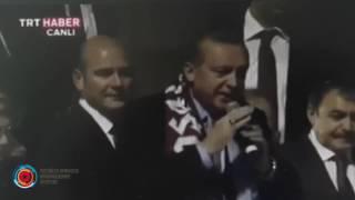 Трабзон  в присутствии Эрдогана демонстранты скандировали рассистские лозунги в адрес армян