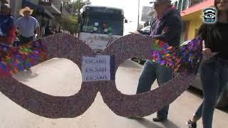 Ameca Jalisco. Desfile del Mal Humor
