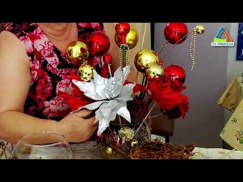 (JC 12/12/17) Aprenda a fazer um enfeite para decorar a mesa da ceia de Natal