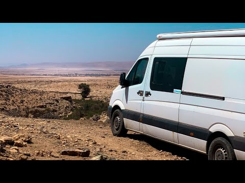 We Found PARADISE IN MOROCCO 🇲🇦 // Van Life North Africa [S04E13]