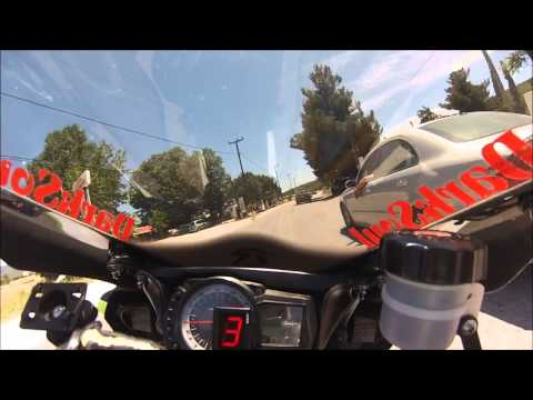 Porto Germeno 26.5.2013 return GSXR 750 onboard