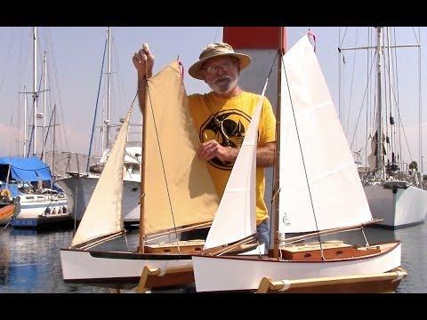 """RC Sailing Sloop """"Emma"""" - One of my favorites!"""