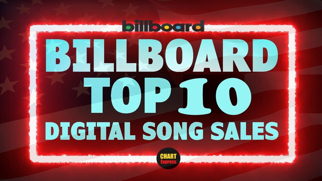 Billboard Top 10 Digital Song Sales (USA)   June 26, 2021   ChartExpress