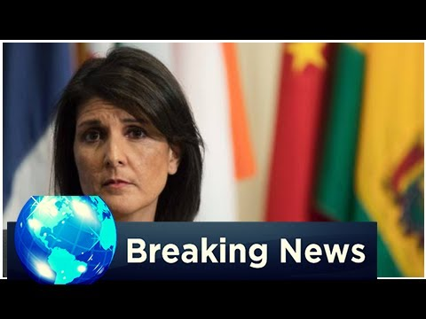 BREAKING: Nikki haley for us President? Ambassador trump bet United Nations diplomats have ambitions