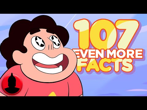 Thumbnail: 107 Even MORE Steven Universe Facts - (Tooned Up #232) | ChannelFrederator