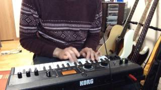 A-ha- Take on me (Synth Bass Cover)