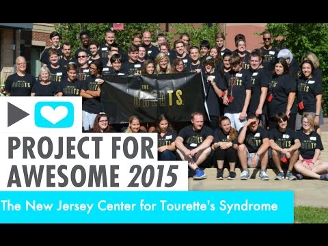 Project for Awesome 2015: The New Jersey Center for Tourette's Syndrome