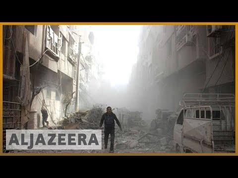 🇸🇾 Syria's besieged Ghouta: UN warns of 'catastrophic' crisis | Al Jazeera English