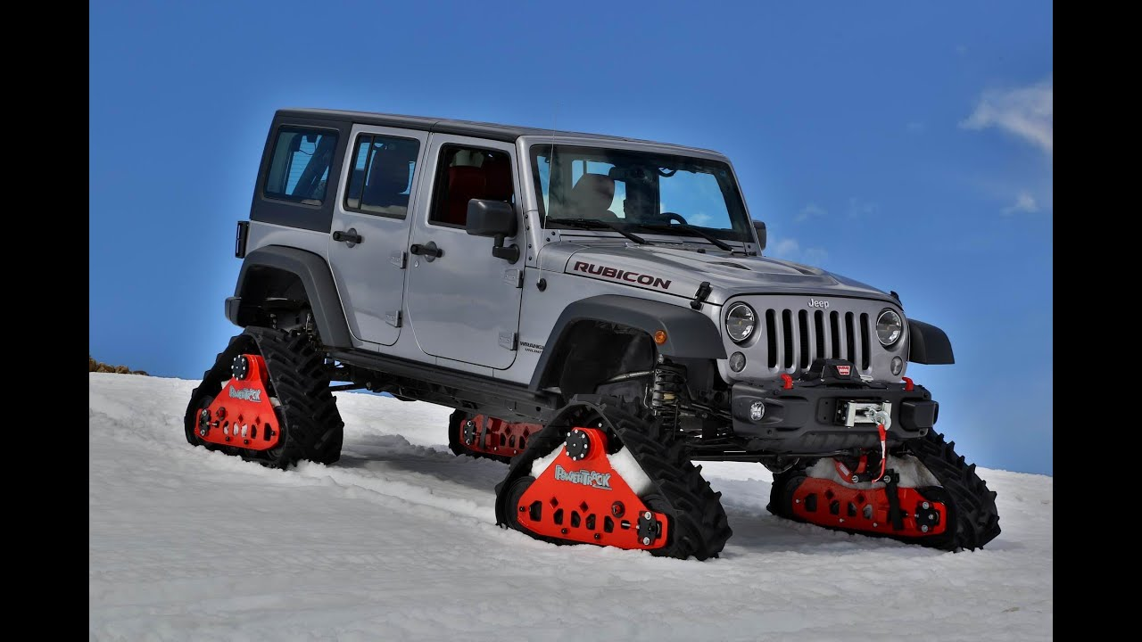 Jeep Wrangler Rubicon With Mattracks