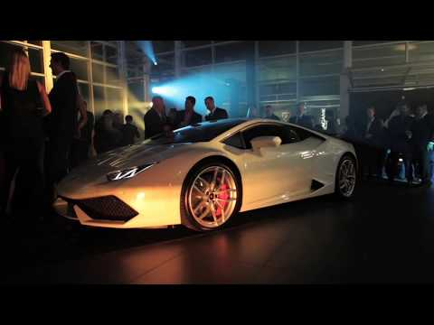 Lamborghini Melbourne Showroom Opening & Huracán Launch 2014