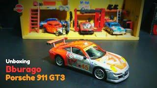Porsche 911 GT3 | Bburago Diecast Cars | 1/43 Scale