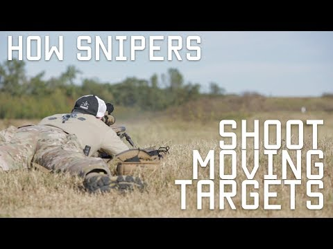 How Snipers Shoot Moving Targets | Tactical Rifleman