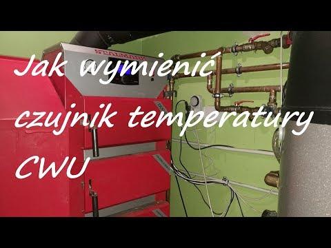 Jak wymienić uszkodzony czujnik temperatury ciepłej wody użytkowej CWU