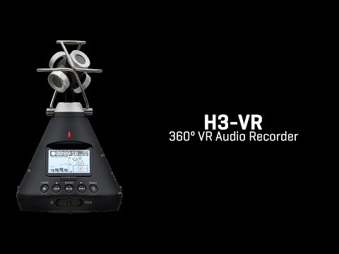 Introducing the Zoom H3-VR