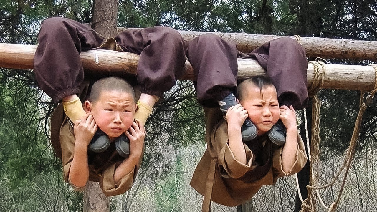 Así Son los Duros y Despiadados Entrenamientos de los Monjes Shaolin