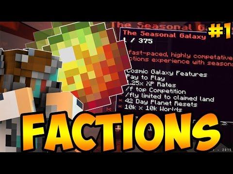 AMAZING LEGENDARY ENVOY!!! Minecraft Cosmic PvP EP:1 Nebula Planet | COSMIC FACTIONS