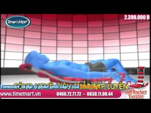 Máy Tập Cơ Bụng AB Rocket Twister Chính hãng Best Buy   YouTube