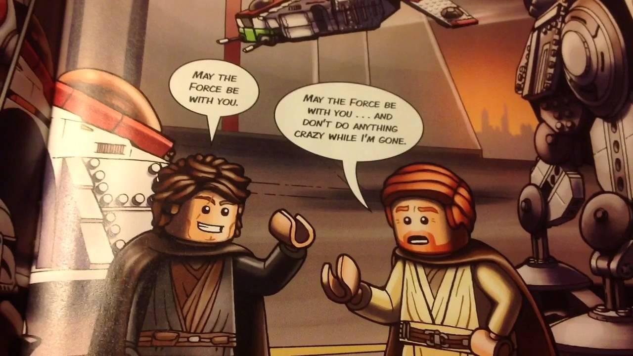 Lego Star Wars Revenge Of The Sith Komiks Obzor Youtube