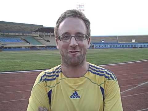 VSO volunteer Nick Clark - National Paralympic Committee of Rwanda