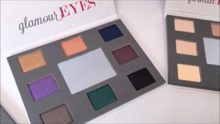 NEW Coastal Scents Style Eyes Palette Set (BRUSH SWATCHES)
