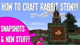 How To Make Rabbit Stew!!! - Minecraft Video