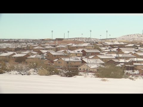 Rio Rancho officials work to keep roads clear