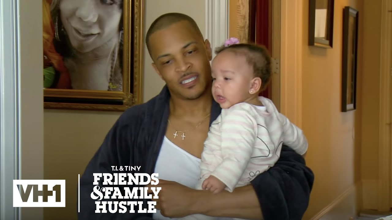T I Has A Woman Over When Tiny Drops Off The Kids T I Tiny The Family Hustle Youtube