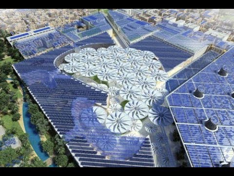 """EA&C """"ECOCITY"""" Masdar City """"FUTURE"""""""