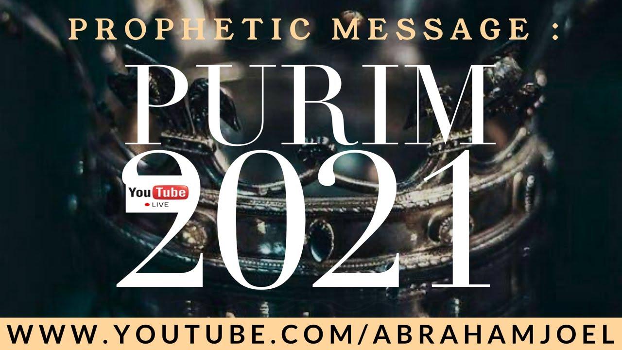 PESAN TUHAN PURIM 2021 : YOU ARE ROYAL DIGNITY // ANDA ADALAH KEHORMATAN  KERAJAAN // ABRAHAM JOEL