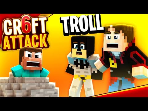 STEIN TROLL AN EARLIBOY MIT GAMERSTIME | CRAFT ATTACK 6 #44 | baastiZockt