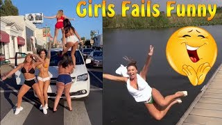 Funny girl fails
