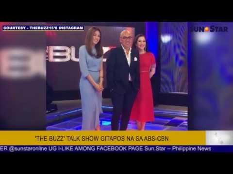 'The Buzz' Talk Show Gitapos Na Sa ABS-CBN