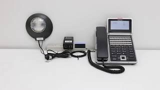 大きな工場や騒音の大きい場所で、ビジネスフォン内線電話の着信音は聞...