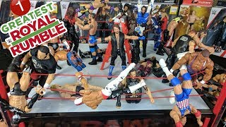 WWE Greatest Royal Rumble 2018 (1/2)   Mattel Wrestling Action Figure Fun   WDW #19