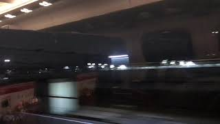 700系 のぞみ391号「いい日旅立ち」新大阪到着 鳥飼車両基地通過